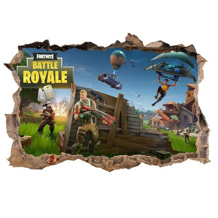 Sticker mural Fortnite
